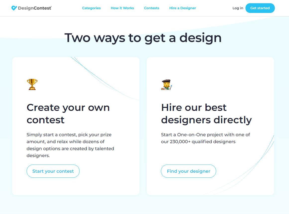 DesignContest Logo Design Process