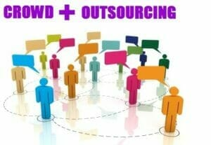crowd plus outsourcing