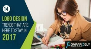 2017 logo design trends used by freelance logo designers comparingly