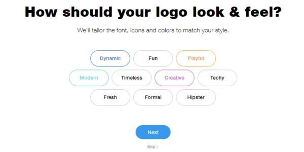 wix logo maker review free online logo maker process 3