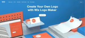 wix logo maker review logo generator process