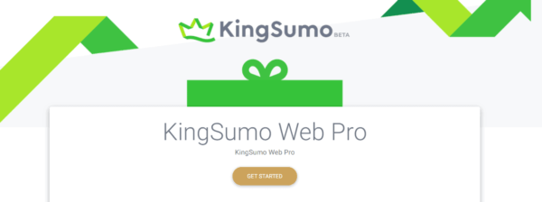 kingsumo web pro software tool included in appsumo briefcase