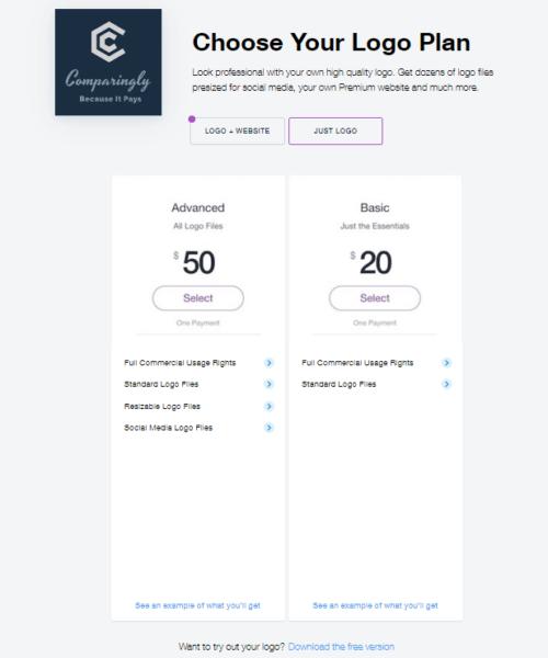wix logo maker cost logo creator free online process 15