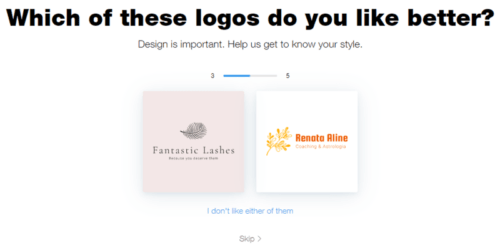 wix logo maker review free online logo creator process 5